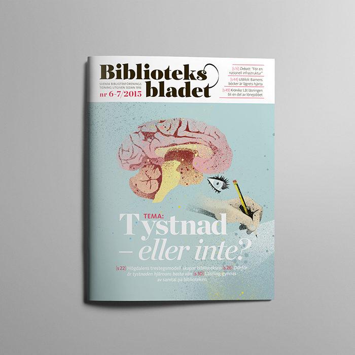 Redesign tidning: Biblioteksbladet