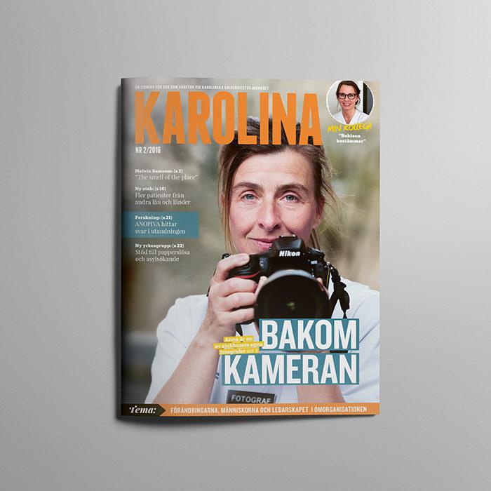 Redesign tidning: Karolina