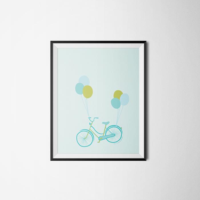 """Poster: """"SF bike"""""""
