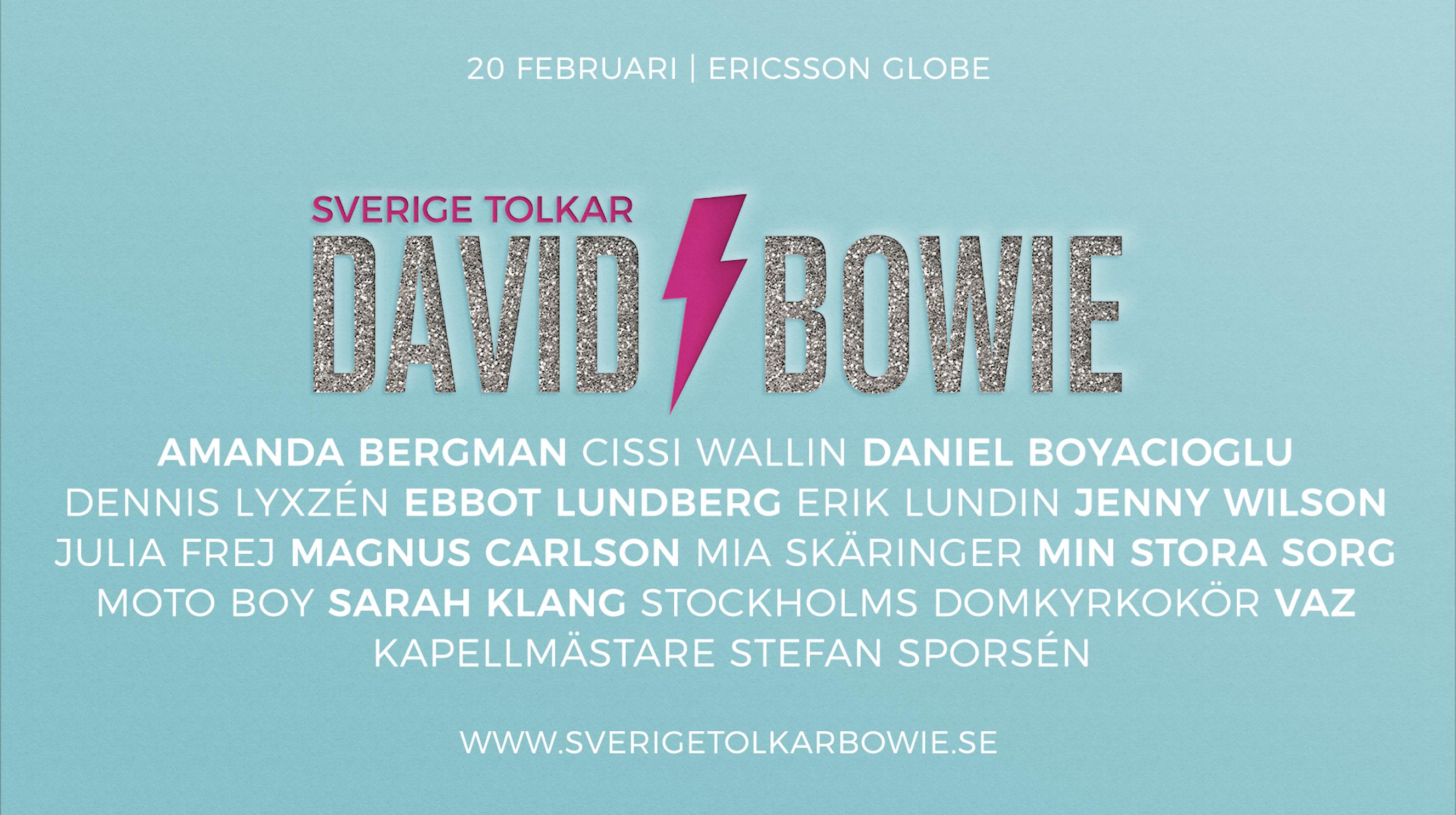 Sverige tolkar David Bowie