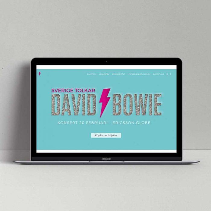 Branding – Sverige tolkar David Bowie