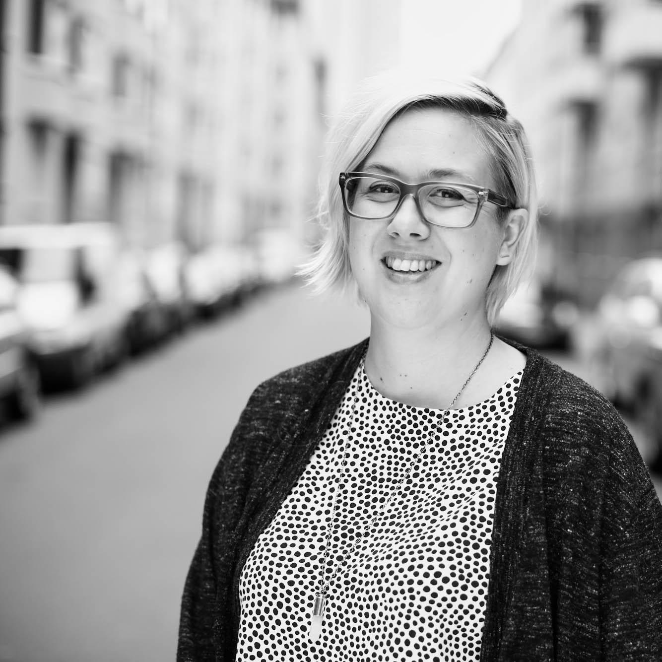 Porträttbild Malin Trotzig foto Paulina Westerlind